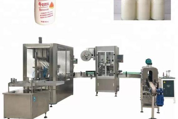 Máquina de enchimento líquida automática de garrafa de vidro