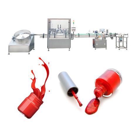Máquina de enchimento de esmaltes
